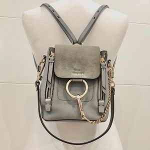 Authentic Chloe Faye Backpack - Mini